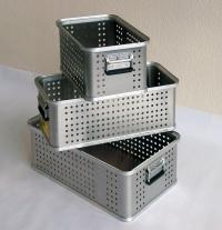 Cajas de aluminio sin tapa