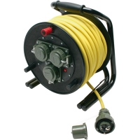 Carrete de cable 25 m 230 V THW