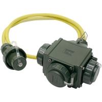 Distribuidor 230 V 16 A IP 68
