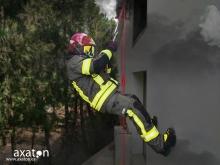 Traje de intervención TEXPORT con arnés integral EN 469